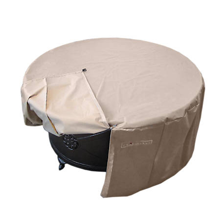 AZ Patio Heaters Round Fire Pit Cover, HLI-F-RCVR