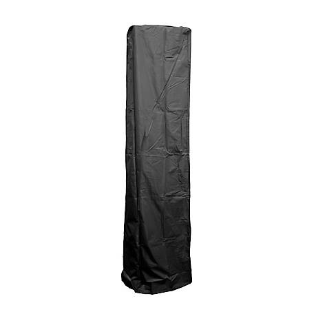 AZ Patio Heaters Square Glass Tube Patio Heater Cover in Black, HVD-SGTCV-B