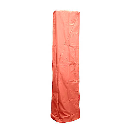 AZ Patio Heaters Square Glass Tube Patio Heater Cover in Paprika, HVD-SGTCV-P