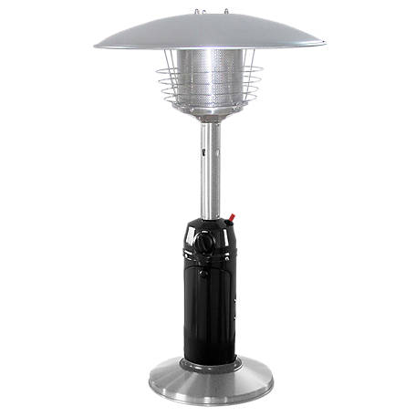 AZ Patio Heaters Stainless Steel/Black Table Top Patio Heater, HLDS032-BSS