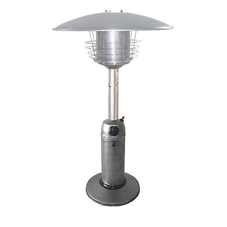 AZ Patio Heaters Hammered Silver Table Top Patio Heater, HLDS032-C