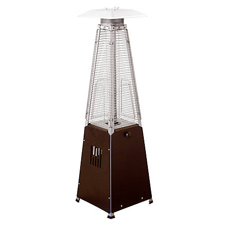 Az Patio Heaters Glass Tube Table Top Patio Heater