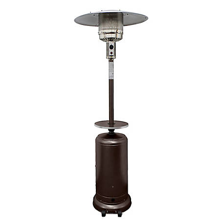 AZ Patio Heaters Outdoor Tall Hammered Bronze Patio Heater, HLDS01-CGT