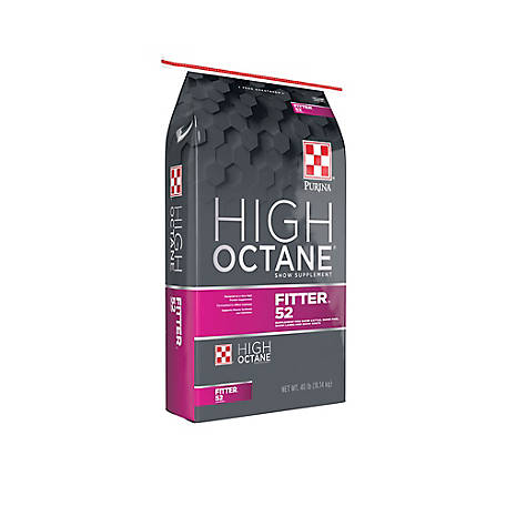 Purina High Octane Fitter 52 Supplement, 40 lb.