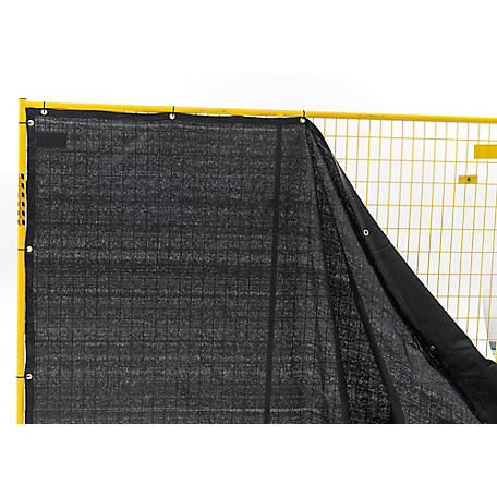 Perimeter Patrol 50 ft. x 68 in. Windscreen Roll with Grommets
