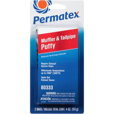Permatex Muffler & Tailpipe Putty, Pack of 2, 80333 at Tractor Supply Co