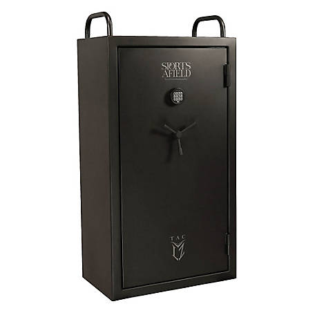 Sports Afield Tactical LZ Gun Safe, SA6033LZ, 8 + 4 Gun Tactical Safe
