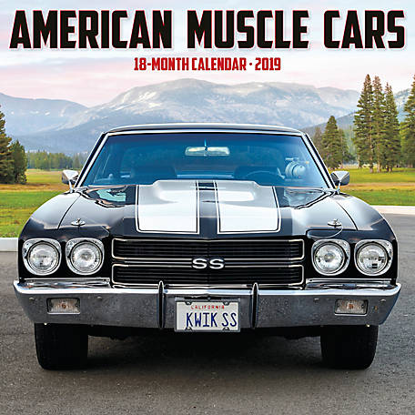 willow creek press 2019 american muscle cars wall at tractor