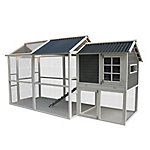 Innovation Pet Premium Hen Coop With Peak Roof, 222-17