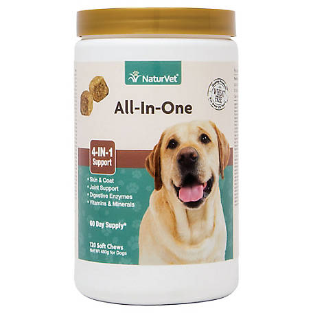 NaturVet All In One Soft Chew Jar, 79903817