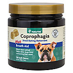NaturVet Coprophagia Stool Eating Deterrent Chewable Tablets, 130 ct.