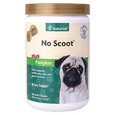 NaturVet No Scoot Soft Chew Jar, 79903705