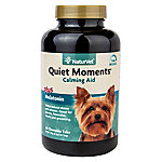 NaturVet Quiet Moments Calming Aid Plus Melatonin Chewable Tablets, 60 ct.