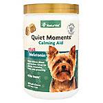 NaturVet Quiet Moments Calming Aid Plus Melatonin Soft Chew, 180 ct.