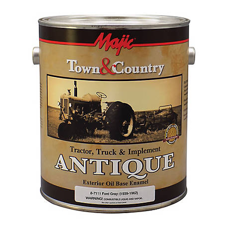 Majic Antique Tractor, Truck & Implement Ford Gray Gallon