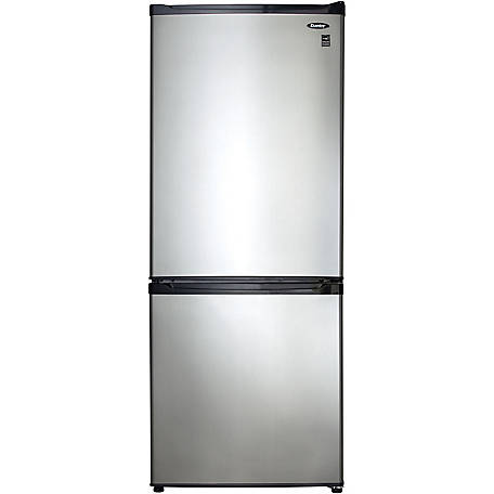Danby Es 9.2 cu. ft. Fridge Freezer Steel Doors