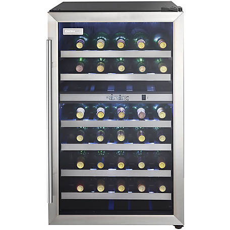 Danby 38-Bottle Free-Standing Cooler-Black