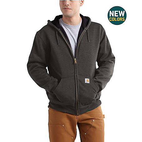 Carhartt Men's RD Rutland Thermal Lined Hooded Zipfront Sweatshirt