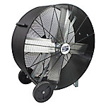 42 in. Direct Drive Polyethylene Barrel Fan, Black