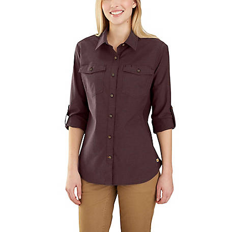 Carhartt Women's Long Sleeve Bozeman Shirt 103600