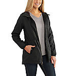 Carhartt Women's Long Sleeve Hooded Rain Jacket