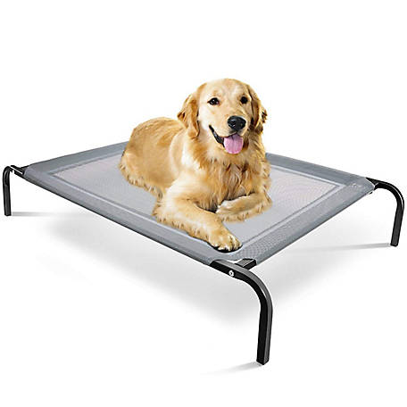 Paws & Pals Elevated Pet Bed, PTBD-02-BK