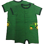 John Deere Boys' Infant Boy Short Sleeve & Shorts Set Stripe Romper