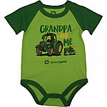 John Deere Boys' Infant Boy Short Sleeve & Shorts Set Grandpa & Me
