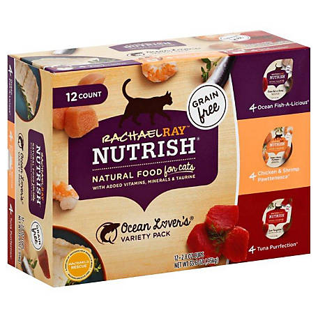 Rachael Ray Nutrish Savory Favorites Ocean Lover's 12 ct. Variety Pack, 2.8 oz.