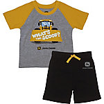 John Deere Boys' Infant Boy Short Sleeve Whats The Scoop