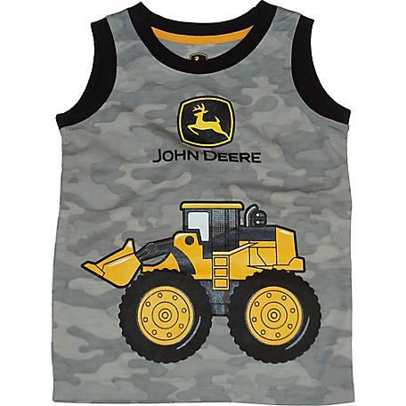 72542c64 John Deere Boys' Toddler Boy Sleeveless Tee Front Loader at Tractor ...