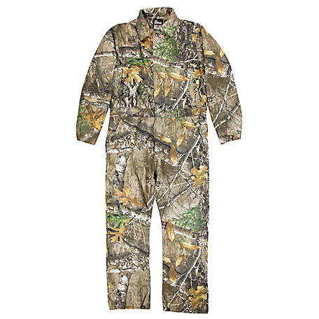 Berne Men's Realtree Edge Camouflage Insulated Coveralls, GI15EDG