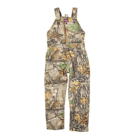Berne Women's Sanded Duck Insulated Bib Overalls 318