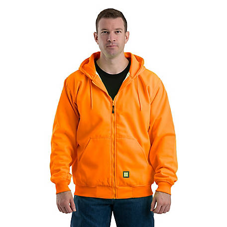 Berne Men's Hooded Thermal Lined Sweatshirt 618