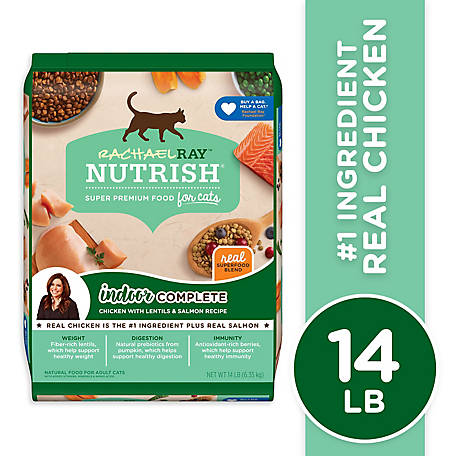 Rachael Ray Nutrish Indoor Dry Cat Food, 14 lb.