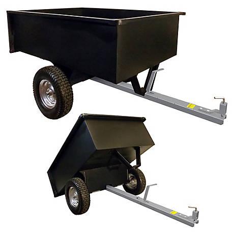 Blue Hawk Heavy Duty Dump Cart Trailer FREE SHIPPING NEW