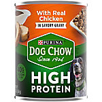 Purina Dog Chow High Protein Gravy With Real Chicken Wet Dog Food, 13 oz. Can