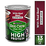 Purina Dog Chow High Protein Gravy With Real Beef Wet Dog Food, 13 oz. Can