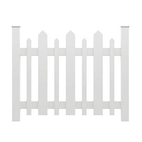 Xpanse Vinyl Picket Accent Fence