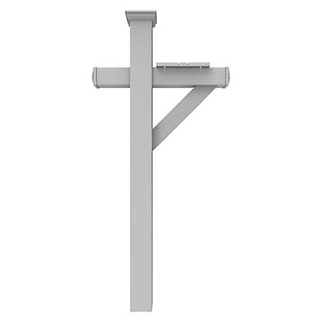 Xpanse 5 in. Vinyl Mailbox Post Stand Combo Kit