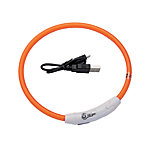 Coastal Pet USB Light Up Neck Ring 24 in., 45401 Q ORG24