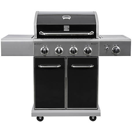 Kenmore 4-Burner Plus Side Searing Burner LP Gas GRill, PG-40409S0LB