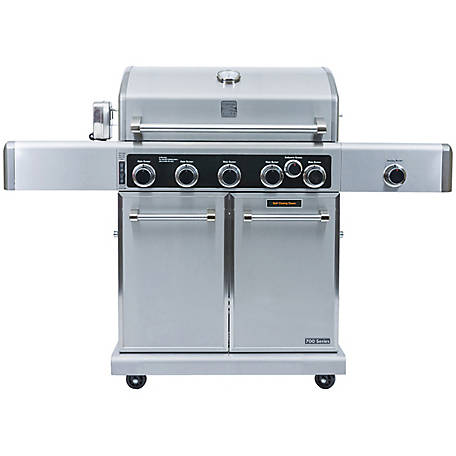 Kenmore Elite Elite 5-Burner Plus Searing Side Gas Grill, PG-40506SRLC