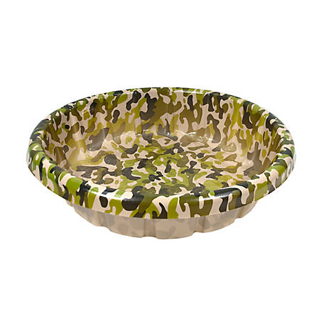 H2O Recreation Dog Pool 3 ft. Camo, 1038-CAMO1-TSC