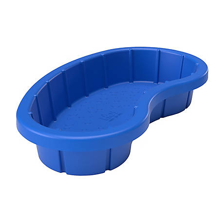 H2O Recreation Dog Pool 45 x 25 In Kidney Blue, 1040-AZZBLU-TSC