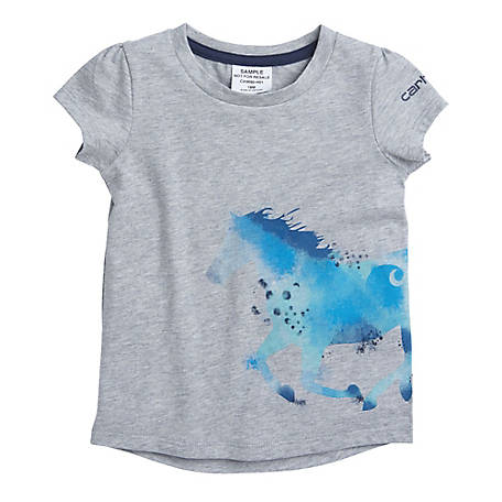 Carhartt Girls' Toddlers Girls Horse Wrap Tee
