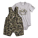 Carhartt Boys' Camo Shortall Set