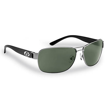 Flying Fisherman Carysfort Sunglasses Gunmetall Black Smoke