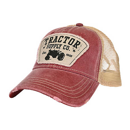 Tractor Supply Twill Cap Mesh Seed Patch