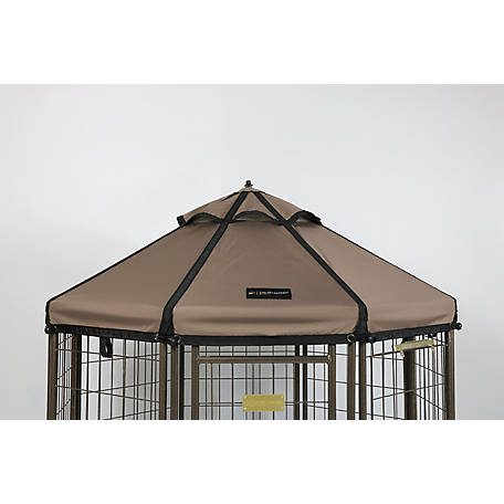 Advantek Pet Gazebo 5' Canopy Earth Taupe